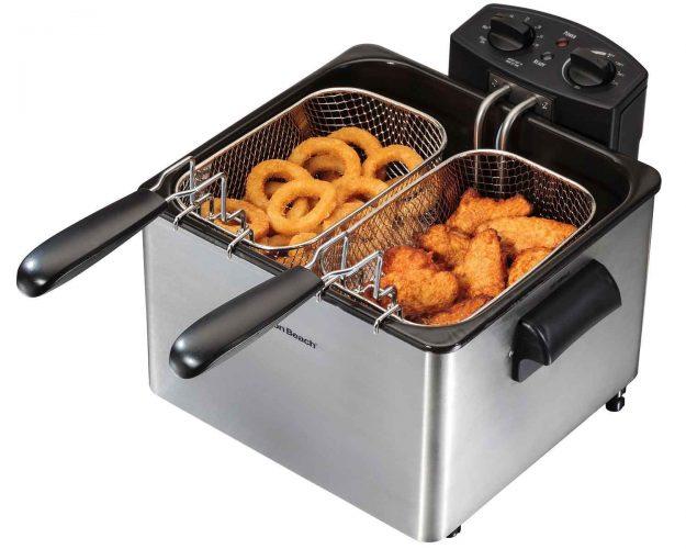 The Hamilton Beach Professional Style Deep Fryer-