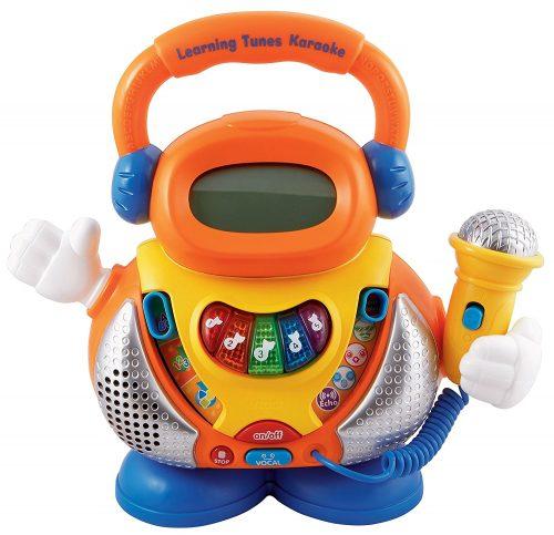 The Learning Tunes Karaoke System from VTech - Kid Karaoke Machines