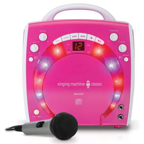 The Singing Machine SML-283P -Kid Karaoke Machines