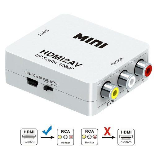 3Csmar HDMI to RCA Converter-HDMI to RCA Converters