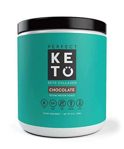 Keto Protein Powder - Grass-fed Collagen and MCT Oil Low Carb Protein Powder - Protein Powders