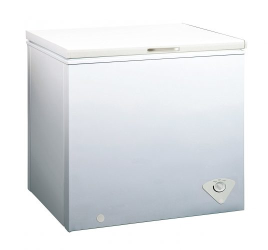 Midea WHS-258C1 Single Door Chest Freezer, 7.0 Cubic Feet, White - Deep Freezers