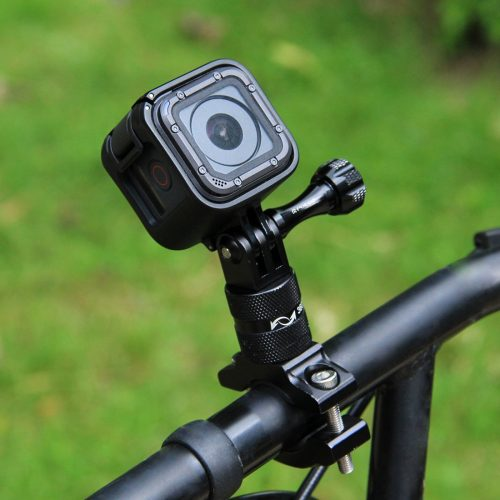 PULUZ 360 Degree Rotation Bicycle Aluminum Handlebar Adapter Mount with Screw for GoPro HERO5 Session /5 /4 Session /4 /3+ /3 /2 /1, Xiaoyi Sport Camera - GoPro Bike Mounts