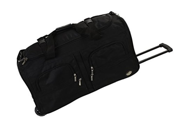 aa8d5b90619d Rockland Luggage 30 Inch Rolling Duffle - Rolling Duffel Bags