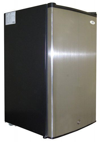 SPT UF-304SS Energy Star Upright Freezer, 3.0 Cubic Feet, Stainless Steel - Deep Freezers