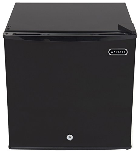 Whynter CUF-110B Energy Star 1.1 Cubic Feet Upright Freezer with Lock, Black - Deep Freezers