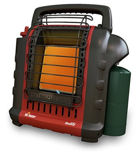 Mr. Heater F232000 MH9BX Buddy 4,000-9,000-BTU Indoor-Safe Portable Radiant Heater - Battery Operated Heaters