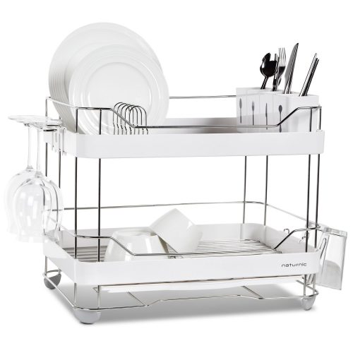 Top 40 Best Dish Rack In 40 Delectable Sabatier Expandable Dish Rack With Soft Touch Coating