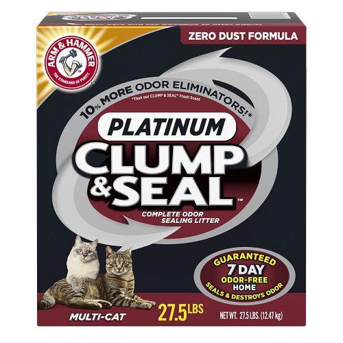 Arm & Hammer Clump & Seal Multi-Cat Litter - Clumping Cat Litter