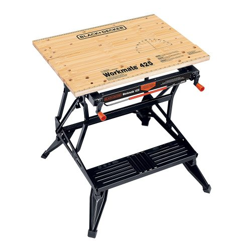 Black & Decker WM425-A Portable 550-Pound Project Center and Vise - Portable Workbench
