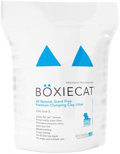 Boxiecat Premium Clumping Clay Cat Litter - Clumping Cat Litter