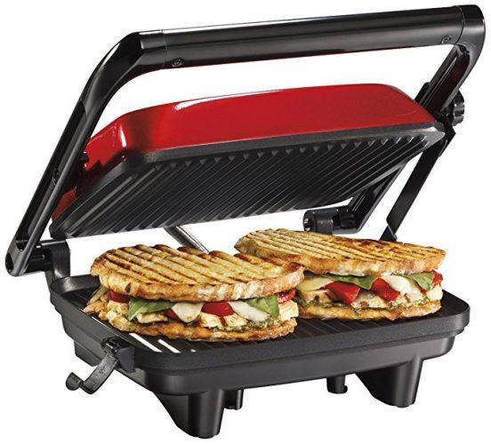Hamilton Beach 25462Z Panini Press Gourmet Sandwich Maker - Panini Press