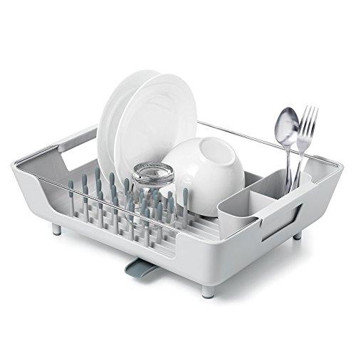OXO good grips large peg dish rack with adjustable drain tray - Dish Rack