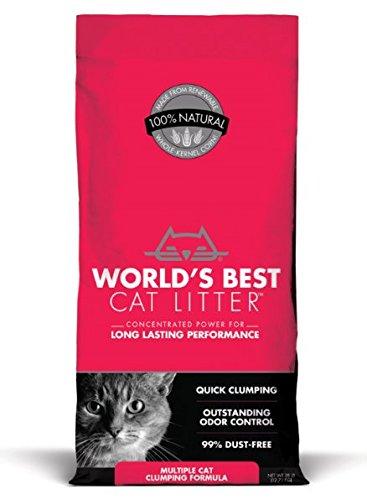 World's Best Cat Litter Extra Strength - Clumping Cat Litter