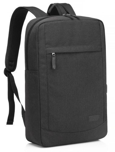17-inch Laptop Backpack with USB Charging Port Lightweight Slim Business Computer Rucksack with Waterproof Rain Cover - 17-inch laptop backpacks