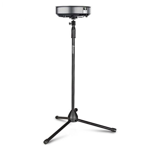 "Auledio Portable Projector Stand, Lightweight Projector Tripod Floor Stand Holder with 360° Swivel Ball Head and Adjustable Height (29.5"" - 55.1"") - Projector Tripod Stands"
