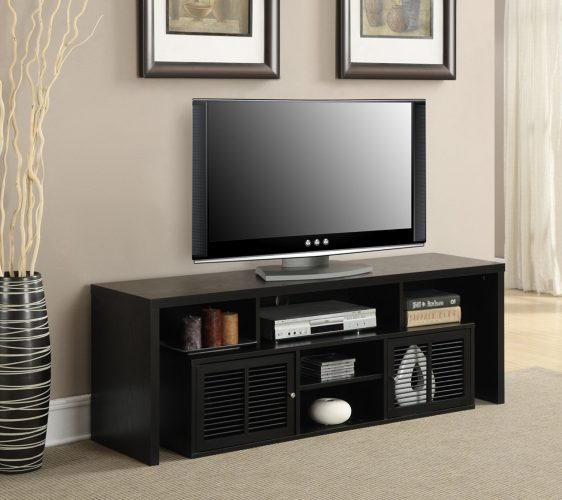 Convenience Concepts Designs2Go Modern Lexington 60-Inch TV Stand - Wooden TV Stand