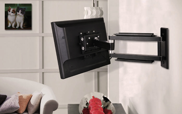 Curved and Flat TV Wall Mount Bracket
