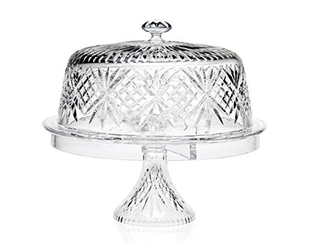 Godinger Dublin 4 In 1 Cake Dome - cake stands with dome