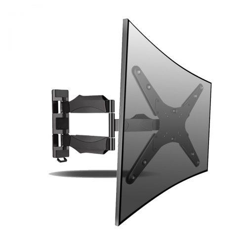 Suptek Articulating Full Motion Ultra Slim TV Wall Mount Bracket for23-55 Inch LCD Plasma TV (MA4262-1) - Curved and Flat TV Wall Mount Bracket