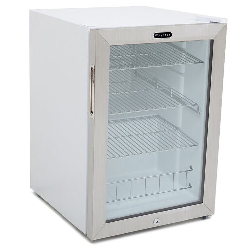 Whynter BR-091WS Beverage Refrigerator with Lock, 90 Can Capacity, Stainless Steel - best beverage refrigerators