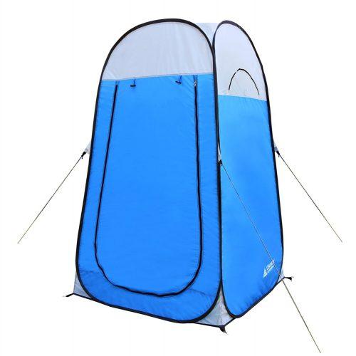 "Leader Accessories Pop Up Shower Tent Dressing Changing Tent Pod Toilet Tent 4' x 4' x 78""(H) Big Comfort Size - Best Shower Tents"