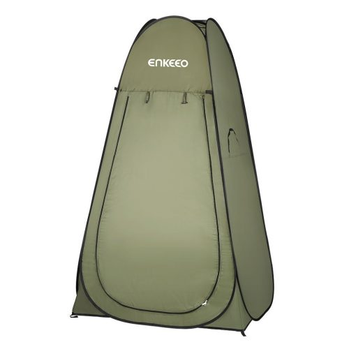 Enkeeo Portable Privacy Tent Pop Up Changing Tent Dressing Room with Detachable Floor and Carry Bag for Shower Toilet Camping Outdoor Beach - Best Shower Tents
