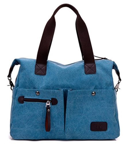Covelin Women's Large Size Canvas Messenger Bag - Messenger Bags for Women