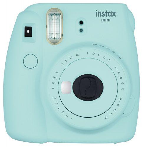 Fujifilm Instax Mini 9 - Ice Blue Instant Camera - instant film cameras