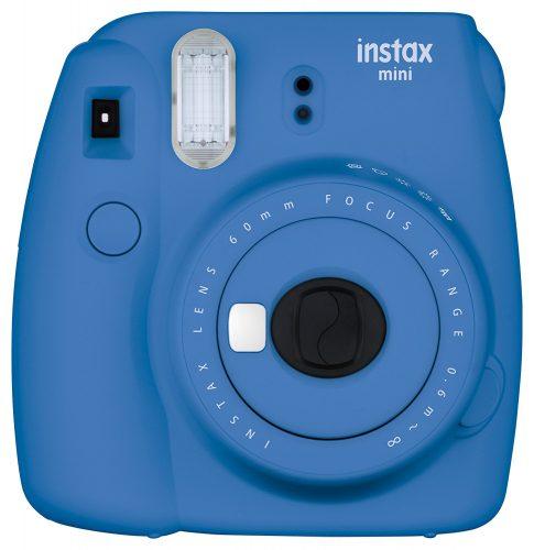 Fujifilm Instax Mini 9 Instant Camera - Cobalt Blue - instant film cameras
