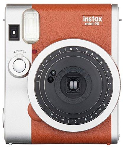 Fujifilm Instax Mini 90 Instant Film Camera (Brown) - instant film cameras
