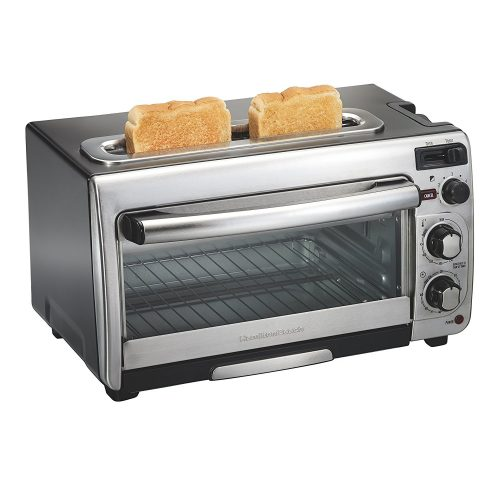 Hamilton Beach 2-in-1 Countertop Oven and 2-Slice Toaster - 2 slice toaster oven