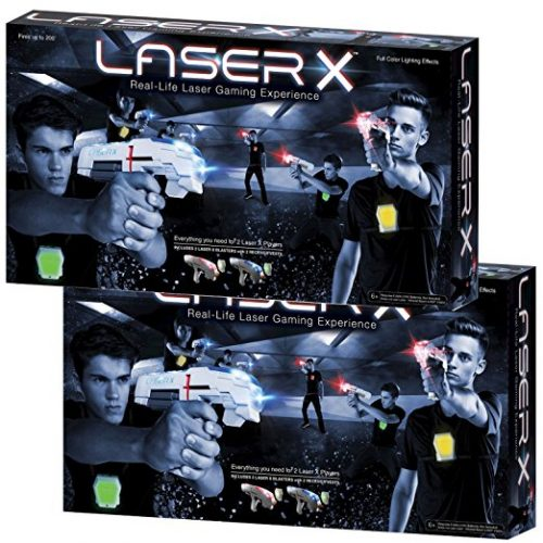 Laser X 88016 Two Player Laser Gaming Set (Various Quantities) - Laser Tag Toys