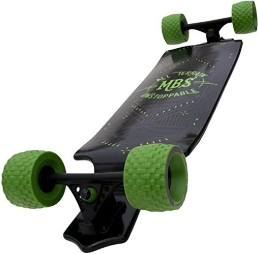 MBS All-Terrain Longboard - off-road skateboards