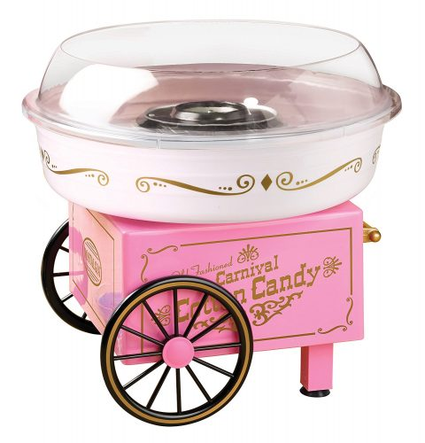 Nostalgia Electrics PCM305 Vintage Collection Hard and Sugar Free Cotton Candy Maker - Cotton Candy Maker