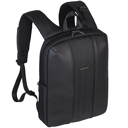 Rivacase 8125 13 - 14 Inch Laptop Backpack   Slim   Elegant   Waterproof    Black 44dbeafb6a