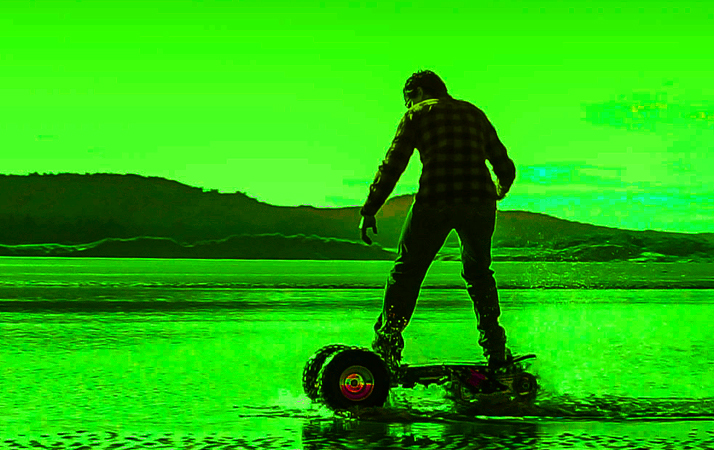 off-road skateboards