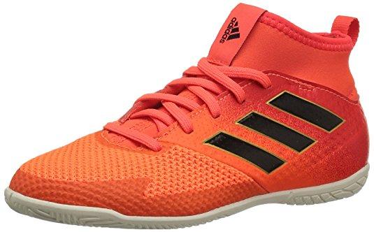 Adidas Performance Boys' Ace Tango 17.3 In J Soccer Shoe, Solar Red/Black/Solar Orange, 10.5 Medium US Little Kid