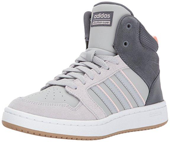 Adidas Neo Women s CF Superhoops Mid W Basketball-Shoes - Basketball Shoes  for Women 57137b3310