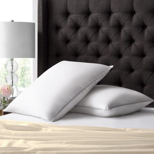 Beckham Hotel Collection Luxury White Down Feather Pillow - Down pillows