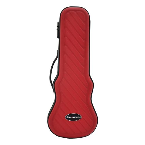 Crossrock CRA400SURD Zippered Hardshell Soprano Ukulele Case with Password Lock