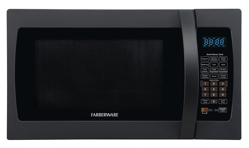 Farberware Professional Stainless-steel Microwave Oven with Sensor Cooking