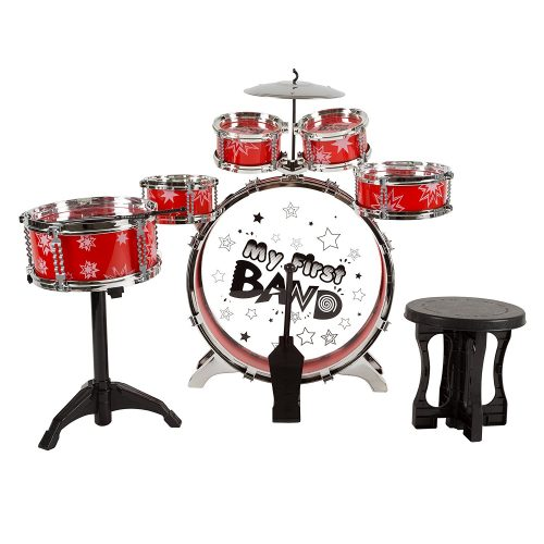 Hey Play Toy Drum Set for Kids