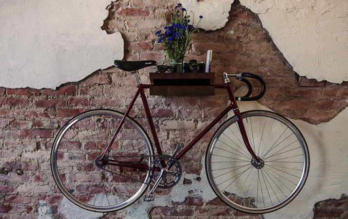 bicycle wall mount