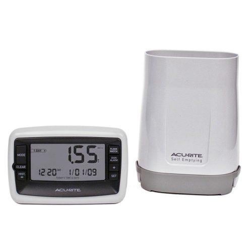 AcuRite 00899 Deluxe Wireless Rain Gauge.