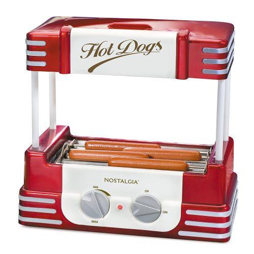 Nostalgia RHD800 Hot Dog Roller and roll hotter