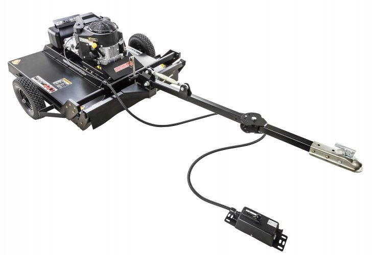 "Swisher RC14544CPKA-CA 14.5HP 12V Kawasaki Commercial Pro Rough Cut California Compliant, Black, 44"""