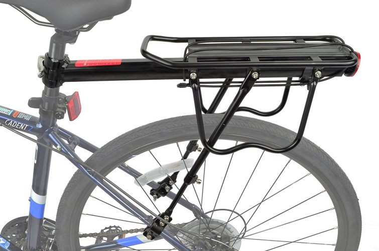 Lumintrail Bicycle Commuter Carrier Rear Seatpost Frame