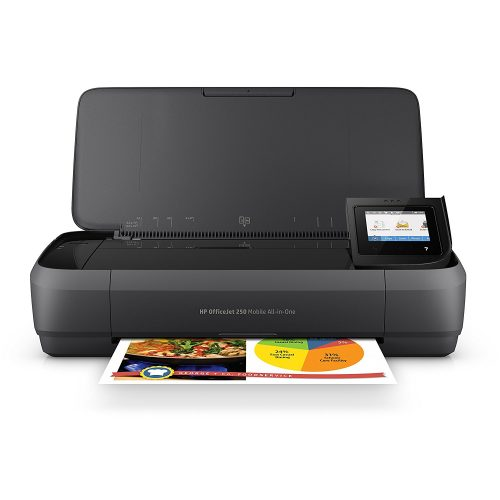 HP OfficeJet 250 All-in-One Portable Printer with Wireless & Mobile Printing (CZ992A)- All in one photo printer