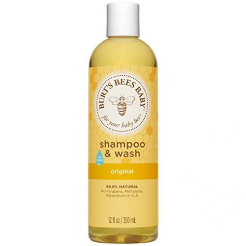 Burt's Bees Baby Shampoo & Wash, Original Tear Free Baby Soap - 12 Ounce Bottle - Baby Shampoos